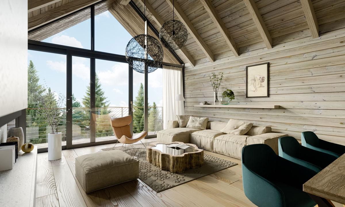 Aj takto môže vyzerať Vaša obývačka