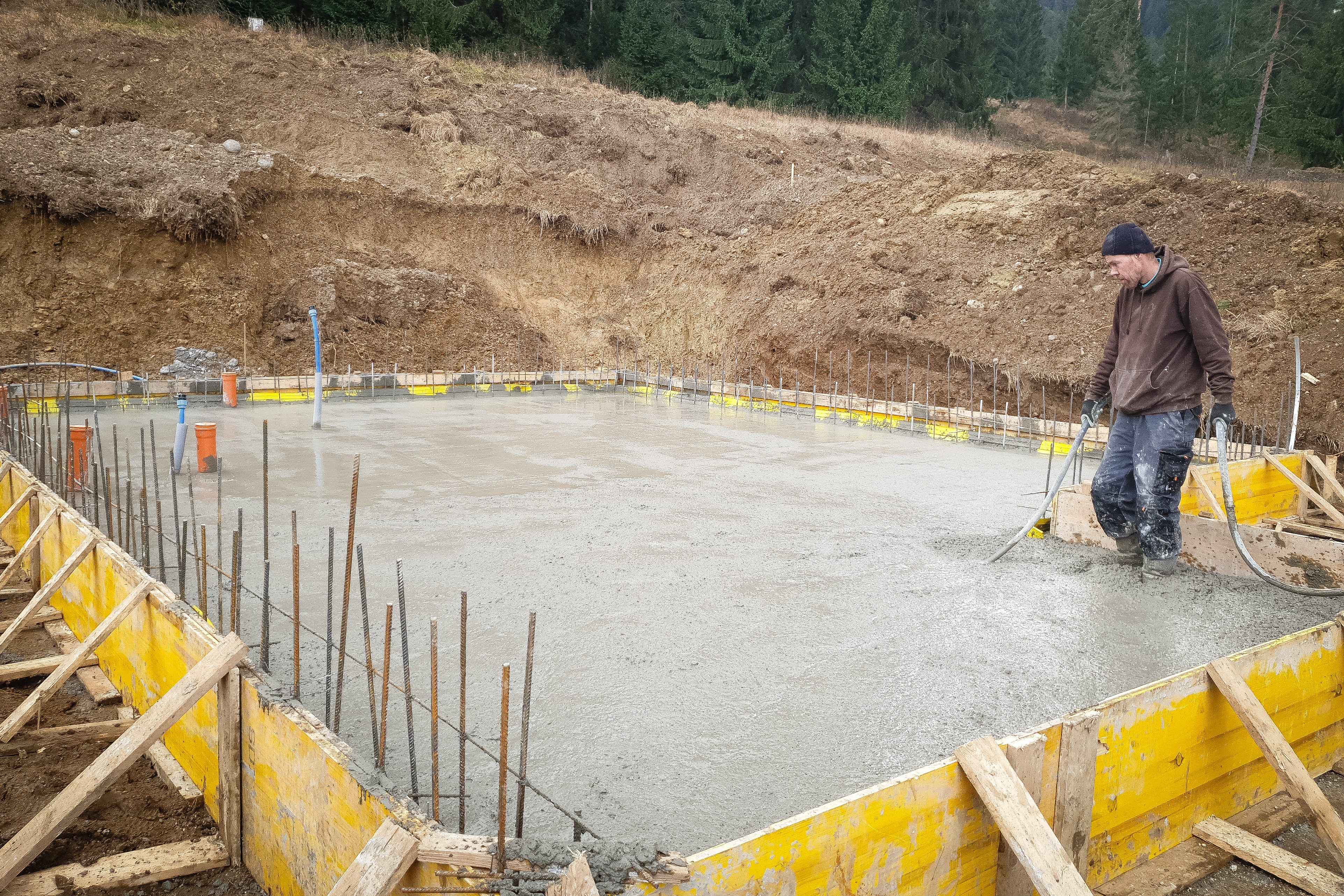 Tri Vody výstavba