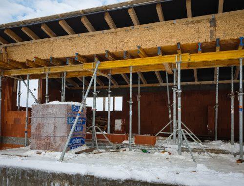 V novom roku (prvý) nový krov